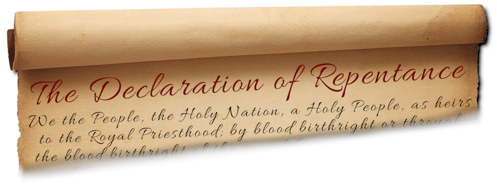 The Declaration of Repentance